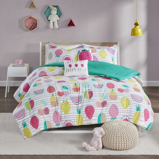 Urban Habitat Kids Water Melly Red/ Yellow Cotton Printed 5-piece Comforter Set