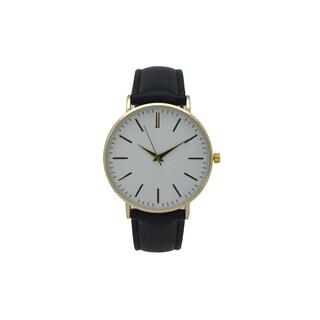Olivia Pratt Women's Minimalist Leather Watch|https://ak1.ostkcdn.com/images/products/16936526/P23225767.jpg?_ostk_perf_=percv&impolicy=medium