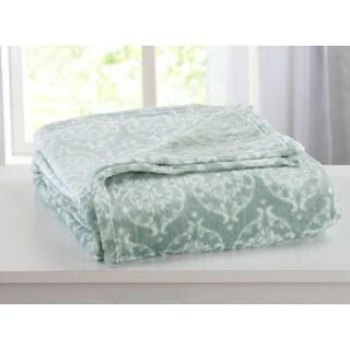 Kingston Collection Ultra Velvet Plush Printed Bed Blanket