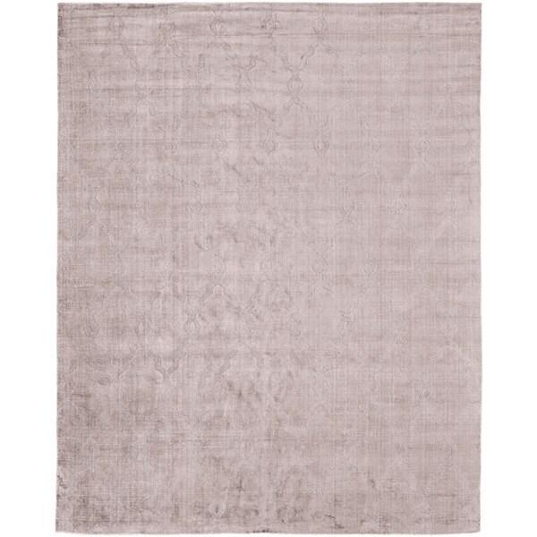 "Avalon Lilac Wool Handmade Runner Rug (2'6 x 10') - 2'6"" x 10'"