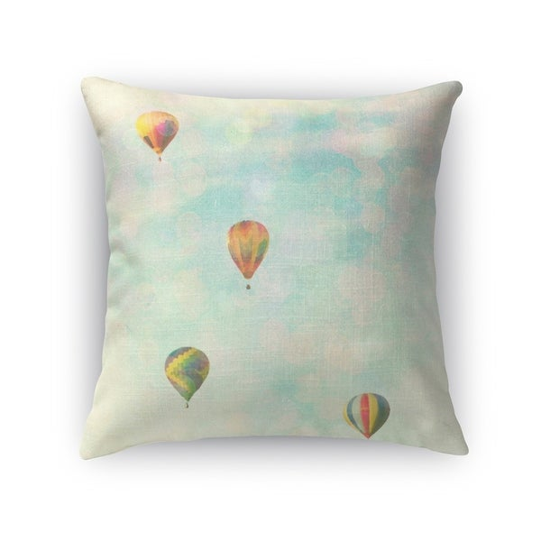 Kavka Designs blue/ green/ yellow/ red floating accent pillow with insert