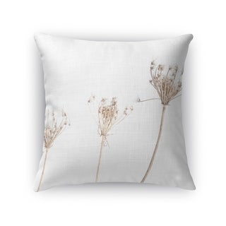 Kavka Designs white/ beige still life2 accent pillow with insert