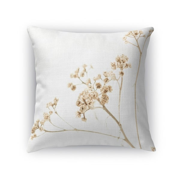 Kavka Designs white/ beige still life 1 accent pillow with insert
