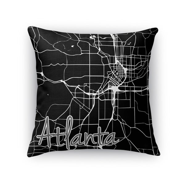 Kavka Designs black/ white atlanta accent pillow with insert