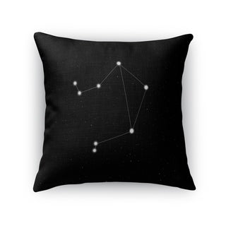 Kavka Designs black/ white libra accent pillow with insert
