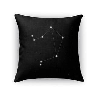 Kavka Designs black/ white libra accent pillow with insert