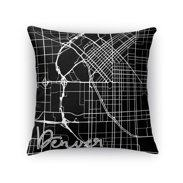 Kavka Designs black/ white denver accent pillow with insert