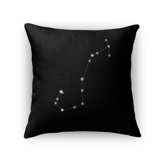 Kavka Designs black/ white scorpio accent pillow with insert