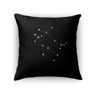 Kavka Designs black/ white gemini accent pillow with insert