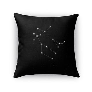 Kavka Designs black/ white gemini accent pillow with insert