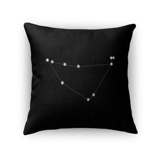 Kavka Designs black/ white capricorn accent pillow with insert