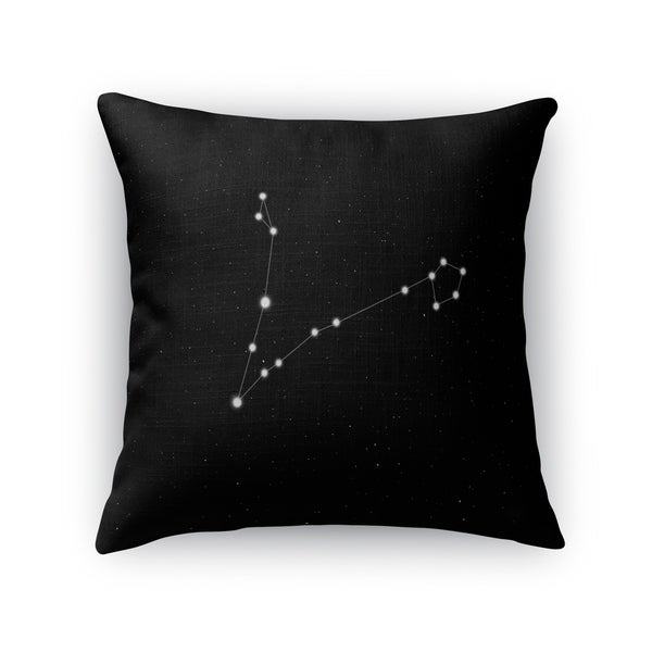 Kavka Designs black/ white pisces accent pillow with insert