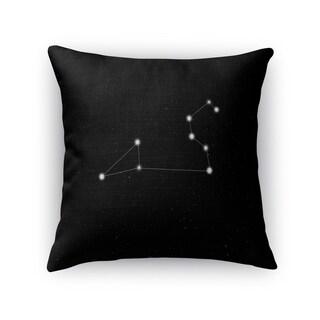 Kavka Designs black/ white leo accent pillow with insert