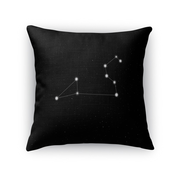 Kavka Designs black/ white leo accent pillow with insert
