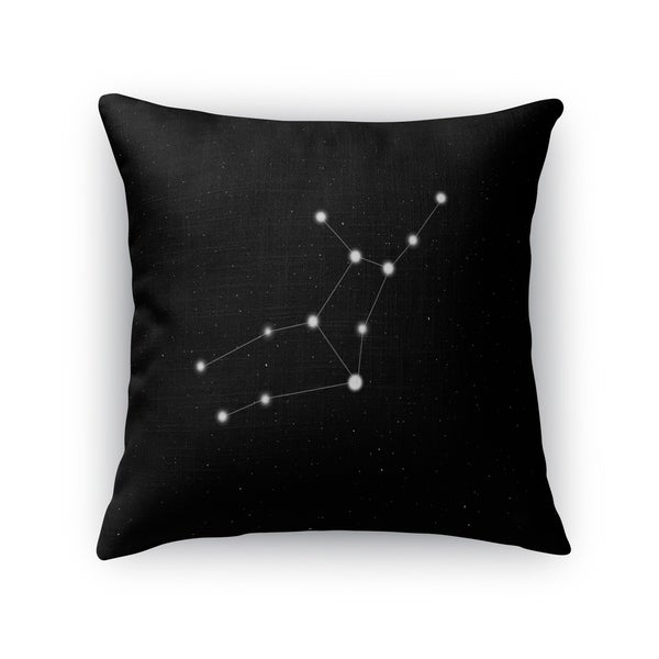Kavka Designs black/ white virgo accent pillow with insert