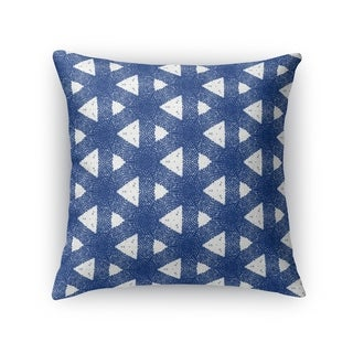 Kavka Designs blue/ white barcelona accent pillow with insert