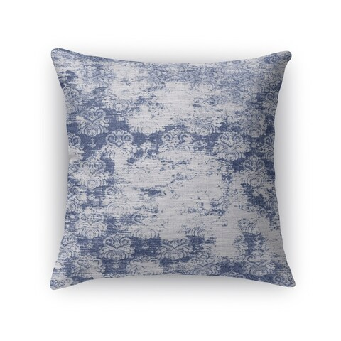 Kavka Designs blue milano blue accent pillow with insert
