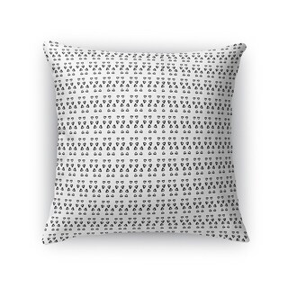 Kavka Designs black/ white avignon accent pillow with insert
