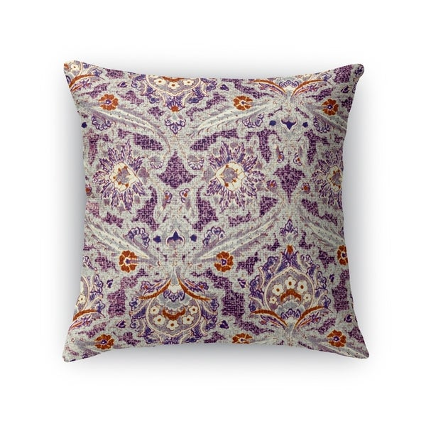 Shop Kavka Designs Purple Grey Orange Purple Charlotte