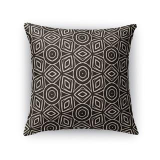 Kavka Designs beige/ black sahara accent pillow with insert