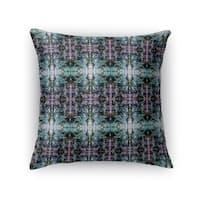 Kavka Designs pink/ purple/ green kaleidascope accent pillow with insert