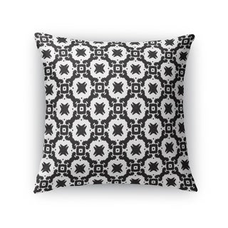 Kavka Designs black/ white tokyo accent pillow with insert