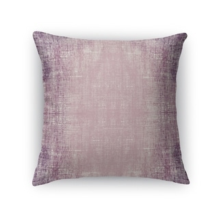 Kavka Designs purple purple distressed accent pillow with insert