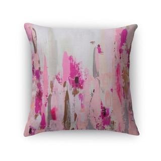 Kavka Designs pink/ purple/ grey/ brown cinderella's slipper accent pillow with insert