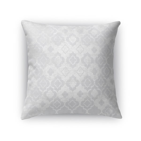 Kavka Designs grey ancona accent pillow with insert