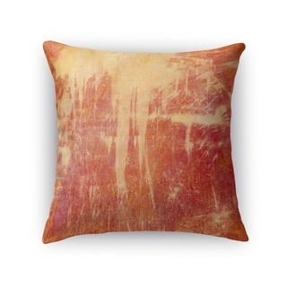 Kavka Designs orange/ red paloma accent pillow with insert