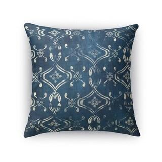 Kavka Designs blue el dorado blue accent pillow with insert
