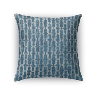 Kavka Designs blue como accent pillow with insert