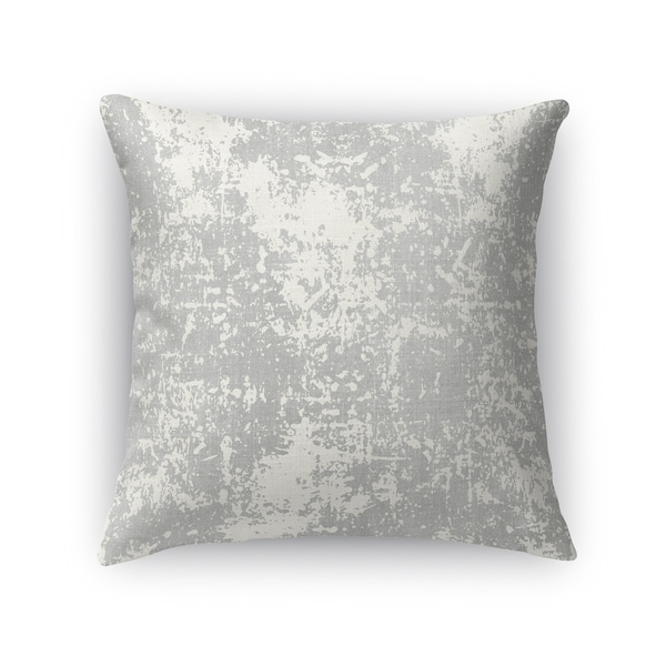 Kavka Designs grey milano accent pillow with insert