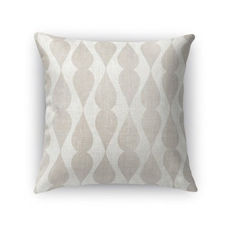 Kavka Designs ivory/ grey pisa accent pillow with insert