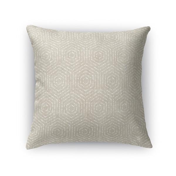 Kavka Designs beige scandicci accent pillow with insert