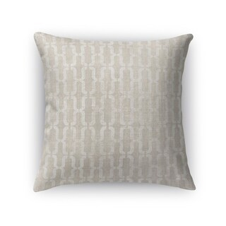 Kavka Designs ivory grosseto accent pillow with insert