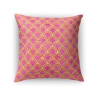 Kavka Designs pink rimini accent pillow with insert
