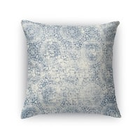 Kavka Designs blue monza accent pillow with insert