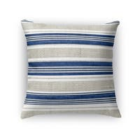 Kavka Designs blue/ grey chatham accent pillow with insert