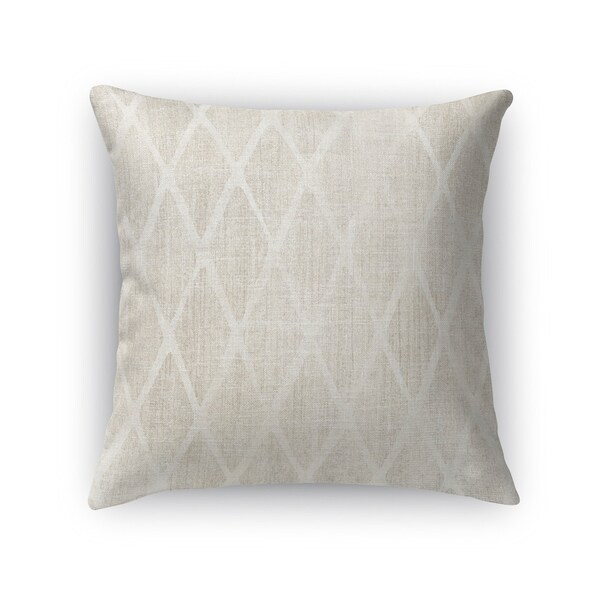 Kavka Designs ivory fano accent pillow with insert