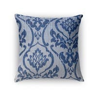 Kavka Designs blue osterville accent pillow with insert