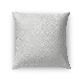 Kavka Designs grey matera accent pillow with insert