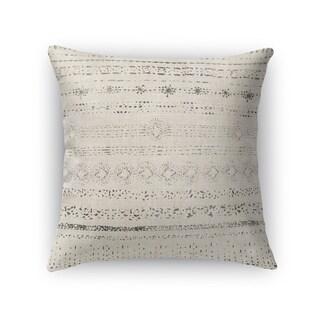 Kavka Designs beige/ grey novara accent pillow with insert