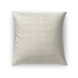 Kavka Designs beige portici accent pillow with insert