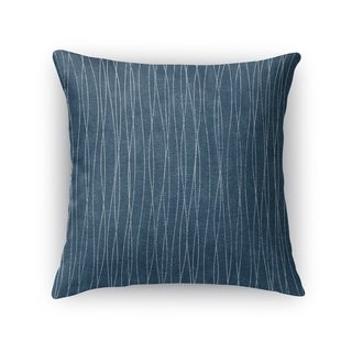 Kavka Designs blue terni accent pillow with insert