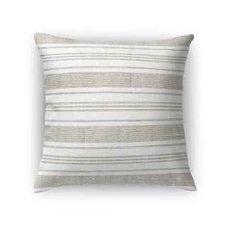 Kavka Designs beige/ white cummaquid accent pillow with insert