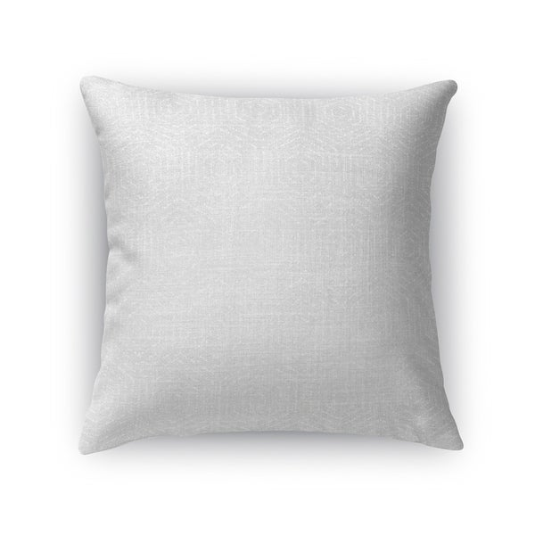 Kavka Designs grey attica accent pillow with insert