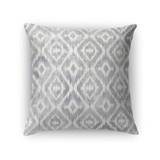 Kavka Designs grey omari gray accent pillow with insert