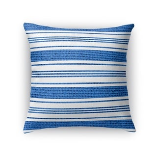 Kavka Designs blue/ white cummaquid accent pillow with insert