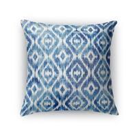 Kavka Designs blue omari blue accent pillow by terri ellis with insert